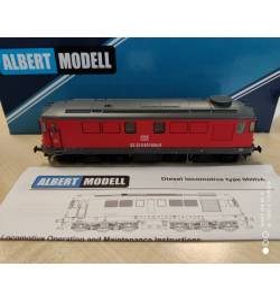 Albert Modell 060005 - Lokomotywa spalinowa Rumun 060DA DBSRP, DCC z dźwiękiem