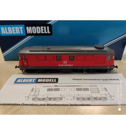 Albert Modell 060005 - Lokomotywa spalinowa Rumun 060DA DBSRP