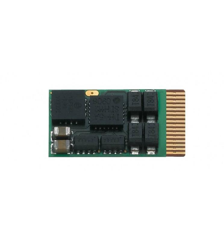 Dekoder jazdy i oświetlenia 1A DCC ze złączem MTC14