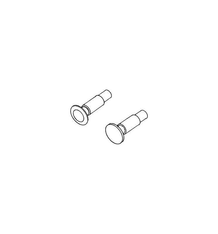 Weinert 86171 - Zestaw 20 sztuk zderzaków sprężynujących okrągłych 5,2mm