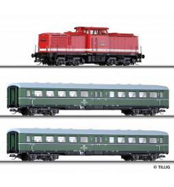 Tillig 01425 - Zestaw Pociąg osobowy BR110 DR ep.IV
