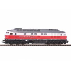 Piko 52764 - Lok. BR232 East-West-Railways, DCC z dźwiękiem ESU Loksound V5+UPS+E1