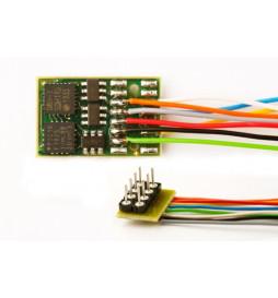 Dekoder DCC/SX/MM jazdy i oświeltenia D&H DH16A-2 8-pin z przewodami
