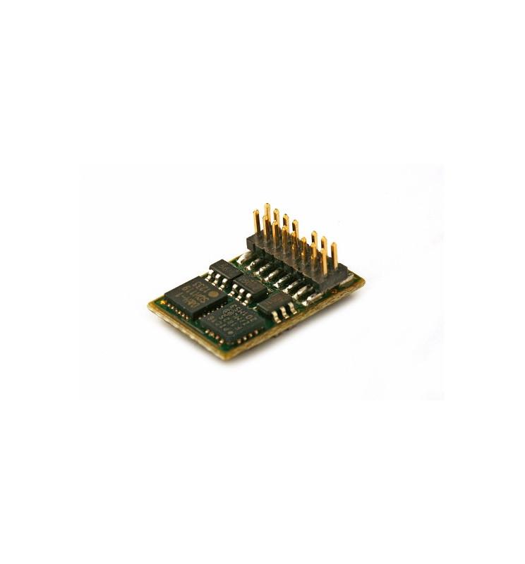 Dekoder DCC/SX/MM jazdy i oświeltenia D&H DH16A-4 PluX16 16-pin