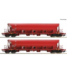 Roco 67087 - Zestaw 2 wagonów samowyladowczych DB AG, ep. VI