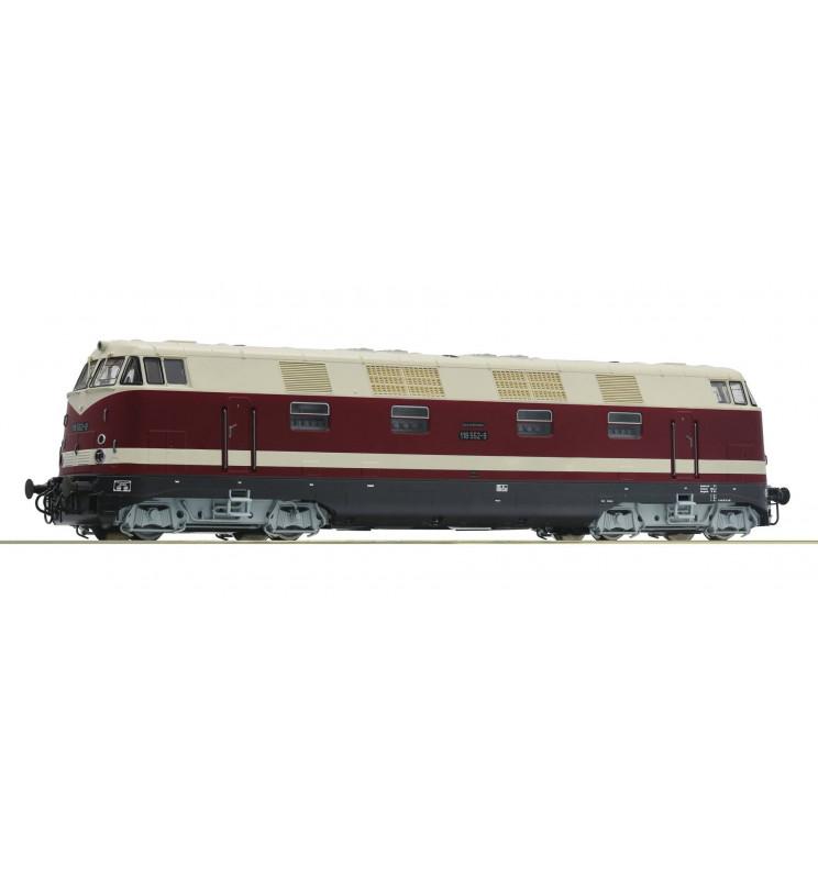 Roco 73889 - Lokomotywa spalinowa 118 552-9 DR, DCC z dźwiękiem