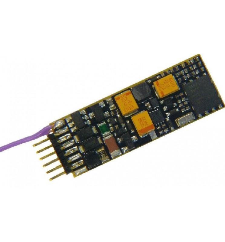 Dekoder jazdy i dźwięku MX646N (1,1W) DCC NEM651 6-pin
