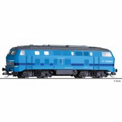 "Tillig TT 04709 - START-Diesel locomotive class 218 ""TT-Express"""