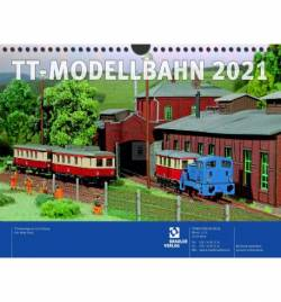 Tillig TT 09577 - TT calendar 2021