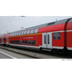 """Tillig TT 16807 - 1st/2nd class double-deck coach """"SüdostBayernBahn"""" of the DB AG, Ep. VI"""