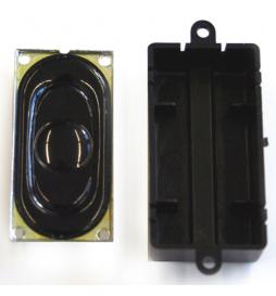 Głośnik 20mm x 40mm, 100 Ohm, z komorą rezonansową - ESU 50448