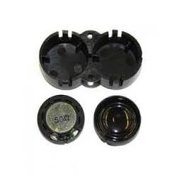 Podwójny głośnik 16mm, oval, 100 Ohm, z podwójną komorą rezonansową - ESU 50447