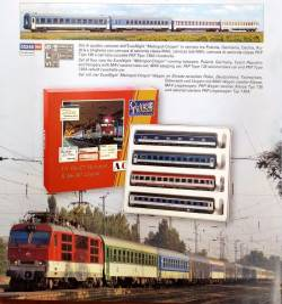 ACME 55248 - Zestaw 4 wagonów pociągu EN 477 Metropol -R 407 Chopin, część 2