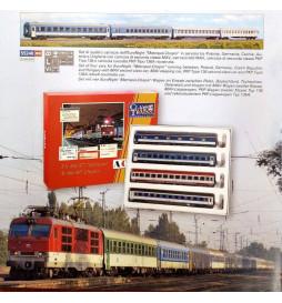 ACME 55119 - Zestaw 4 wagonów pociągu EN 477 Metropol -R 407 Chopin