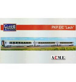 ACME 55262 - Zestaw 3 wagonów pociągu EIC Lech, PKP Intercity