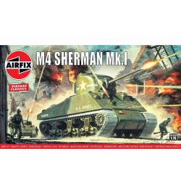 Airfix 01303V - Sherman M4 Mk1, skala 1:76