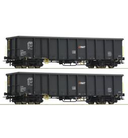 Roco 76099 - Zestaw dwóch wagonów typu Eanos, AWT