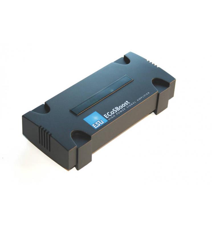 ECoSBoost, dodatkowy booster, 8A, MM/DCC/SX/mfx, zestaw z zasilaczem 120-240V, EU + US, Instr. w j. niem. i ang. - ESU 50011