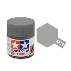 Tamiya 81720 - Farba akrylowa - XF-20 Medium Grey Matt/ 10ml