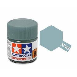 Tamiya 81723 - Farba akrylowa - XF-23 Light Blue Matt/ 10ml