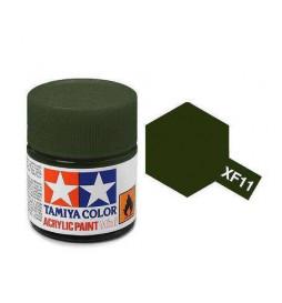 Tamiya 81711 - Farba akrylowa - XF-11 JN Green Matt/ 10ml
