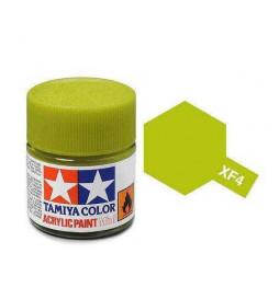 Tamiya 81704 - Farba akrylowa - XF-04 Yellow Green Matt/ 10ml