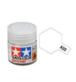Tamiya 81522 - Farba akrylowa - X-22 Clear gloss / 10ml