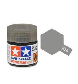 Tamiya 81519 - Farba akrylowa - X-19 Smoke gloss / 10ml