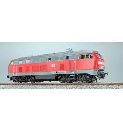 Lokomotywa spalinowa, BR 215, 225 086, DB, Ep V, czerwona, LokSound, Generator dymu, Skala H0, DC/AC - ESU 32022