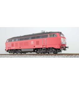 Lokomotywa spalinowa, DB BR 215, 215 078, Ep V, czerwony, LokSound, Generator dymu, Skala H0, AC/DC - ESU 31023