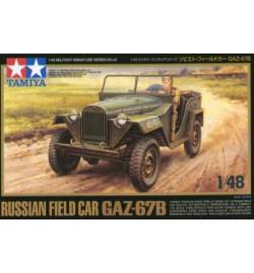 Tamiya 32542 - Samochód do sklejania GAZ-67B, gazik, 1:48