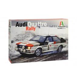 Italeri 3642 - Samochód Audi Quattro Rally do sklejania, skala 1:24