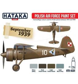 Hataka AS01 Polish Air Force zestaw farb