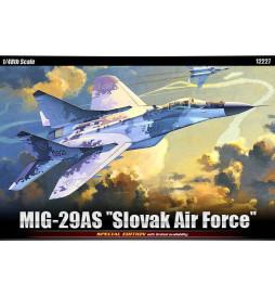 Academy 12227 - Samolot MIG-29AS Slovak Air Force do sklejania, skala 1:48