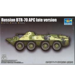 Trumpeter 07138 - Bojowy transporter opancerzony BTR-70 APCdo sklejania, skala 1:72