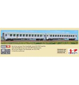 Zestaw 2 wagonów Goerlitz90, PKP Intercity - ACME 90092
