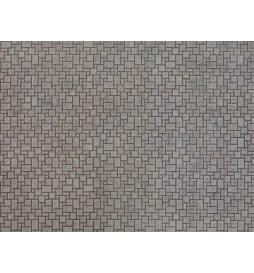 Noch 56605 - Płytka kartonowa 3D - mur z cegły