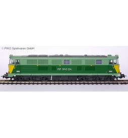 Lokomotywa SP45-204 PKP PIKO 96300 z dekoderem jazdy i oświetlenia ZIMO MX633P22
