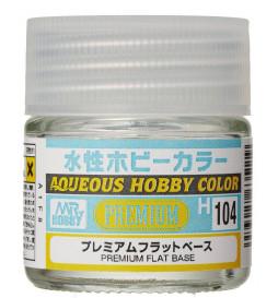 Mr.Hobby H104 - Farba Aqueous Hobby Color, Premium Flat Base