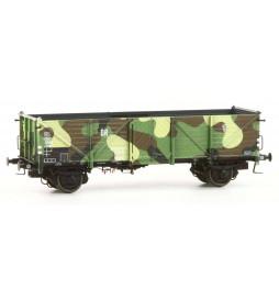 Exact-train EX20352 - Wagon towarowy odkryty Klagenfurt 7 975 Ommu (Camouflage), DRG, Ep. II