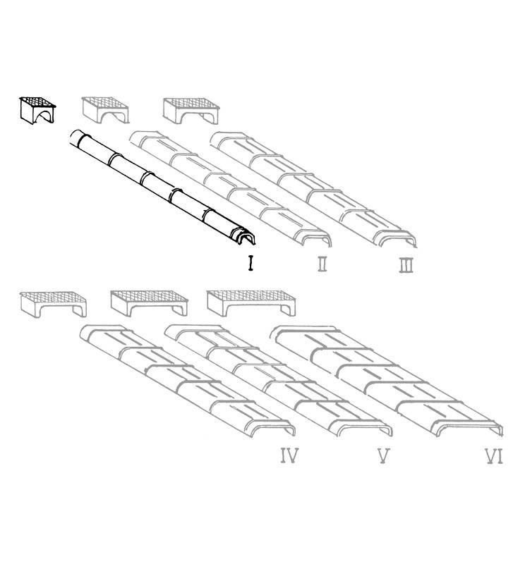 Weinert 72072 - Kanały pędniowe blaszane oraz skrzynki, 10 szt