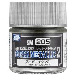 Mr.Hobby SM-205 - Metalizer Super Titanium 2, tytanowy