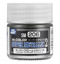 Mr.Hobby SM-06 - SM-06 Chrome Silver, super meralizer - chrom