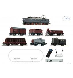 Roco 51323 - Cyfrowy zestaw startowy z21: Elektrowóz E52 DCC z dźwiękiem z pociągiem towarowym