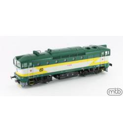 Lokomotywa spalinowa Nurek CD 750 253 MTB-Model