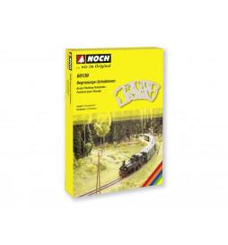"""Noch 08310 - Trawa elektrostatyczna """"Letnia zieleń"""" 2,5mm, 20g"""