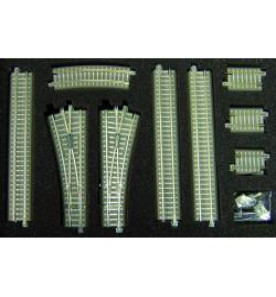 Tillig 01833 - Zestaw torów TT z nasypem (rozszerzenie)
