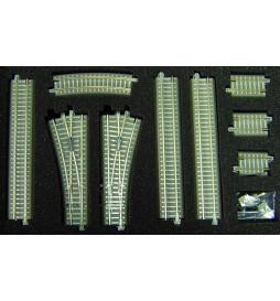 Zestaw torów z nasypem - Tillig TT 01833