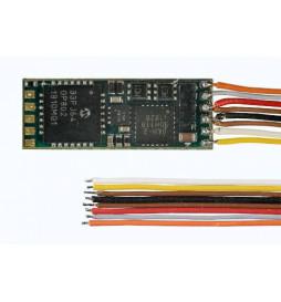 D&H SD05A-1 - Dekoder jazdy i dźwięku DCC/SX/MM NEM651 6-pin