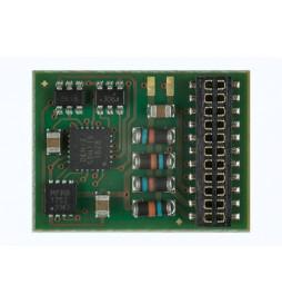 Dekoder jazdy i oświeltenia D&H PD21A-4 21MTC 21-pin